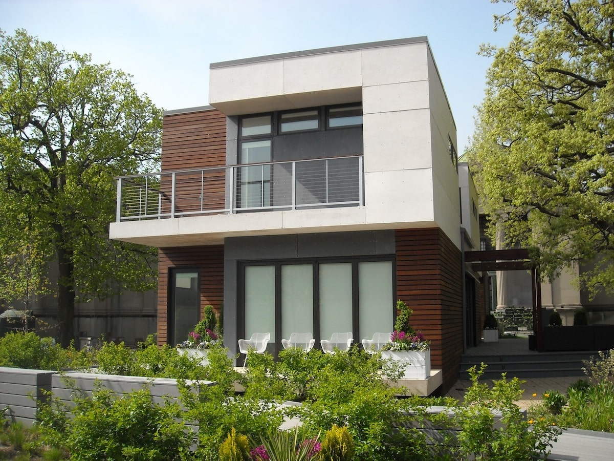 Двуетажни къщи
